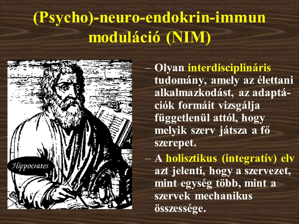 (Psycho)-neuro-endokrin-immun moduláció (NIM)