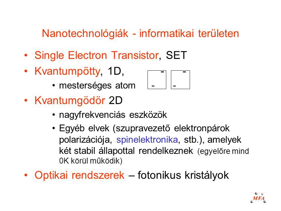 Nanotechnológiák - informatikai területen