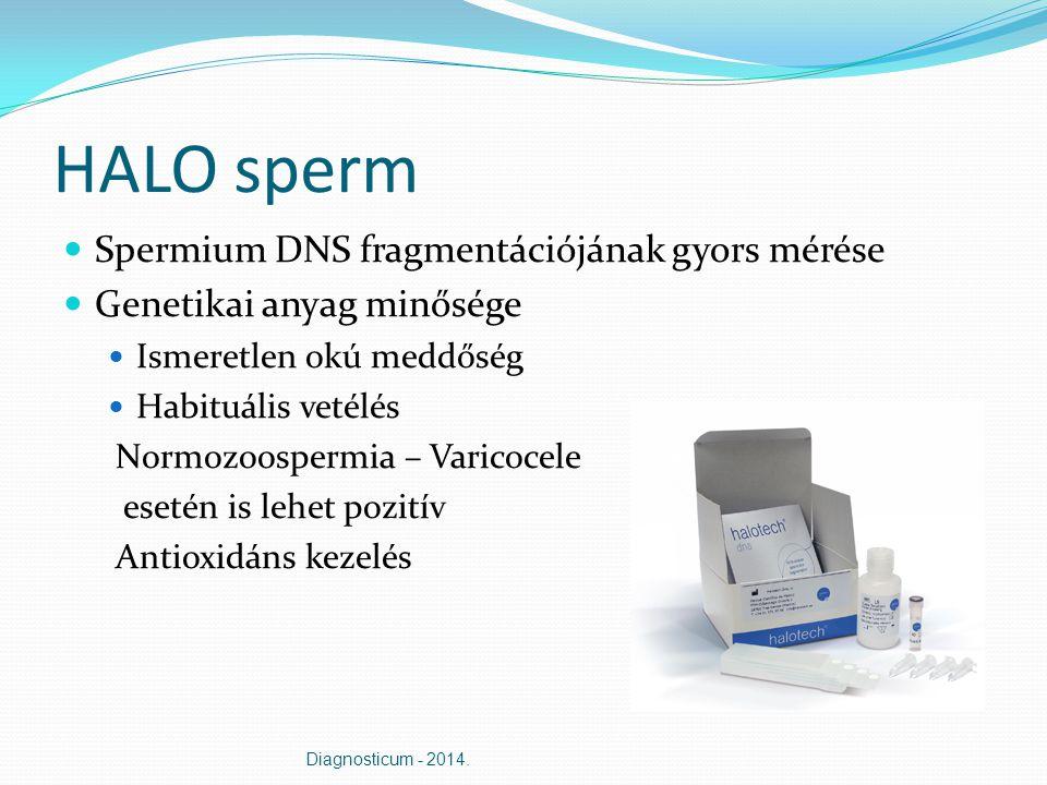 HALO sperm Spermium DNS fragmentációjának gyors mérése