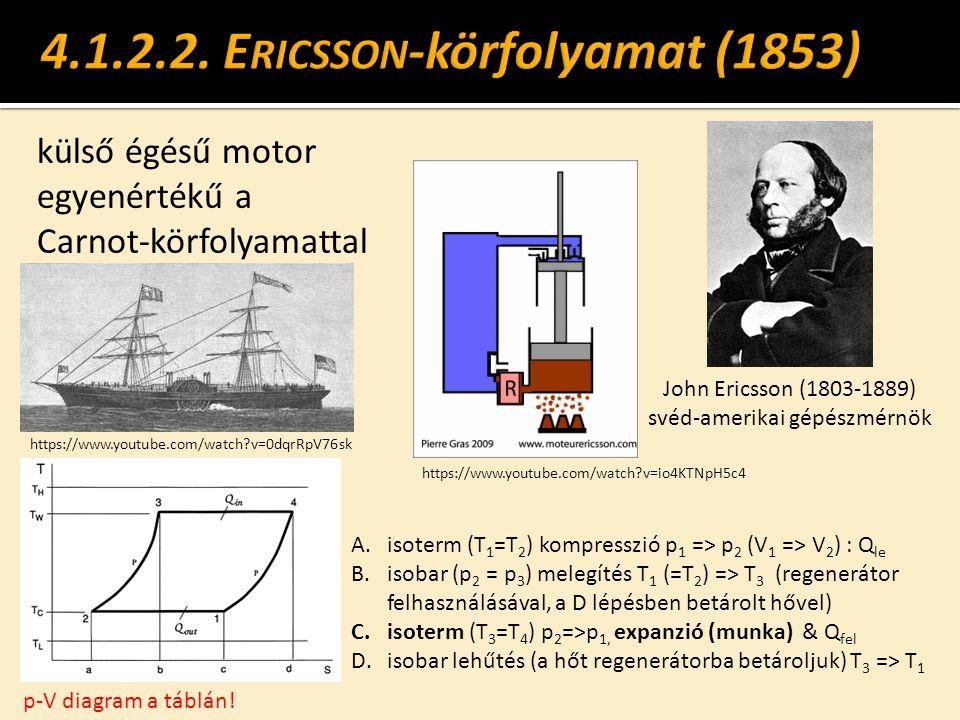 4.1.2.2. Ericsson-körfolyamat (1853)