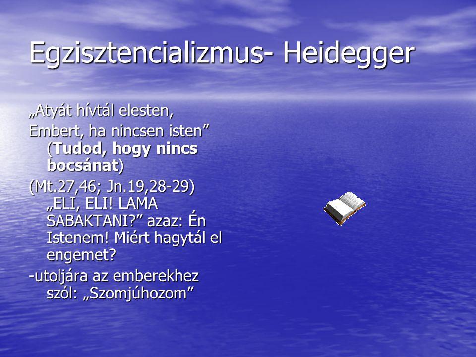 Egzisztencializmus- Heidegger