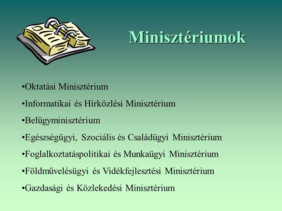 Minisztériumok Oktatási Minisztérium