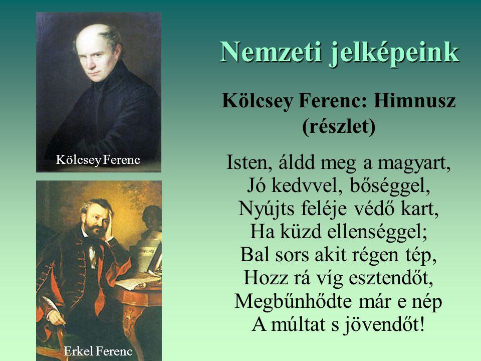 Kölcsey Ferenc: Himnusz (részlet)