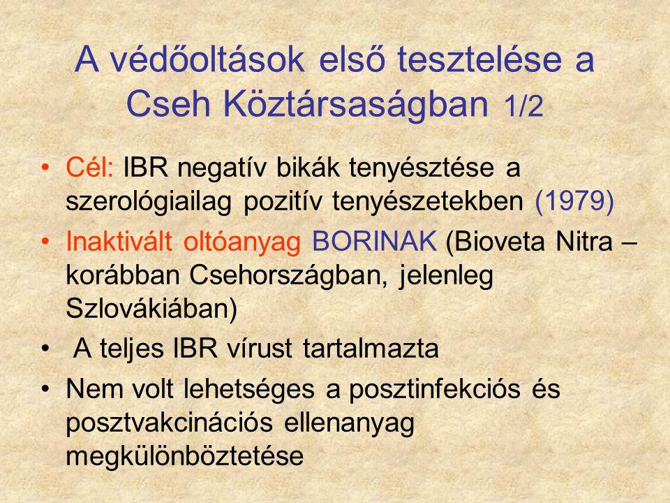 A védőoltások első tesztelése a Cseh Köztársaságban 1/2