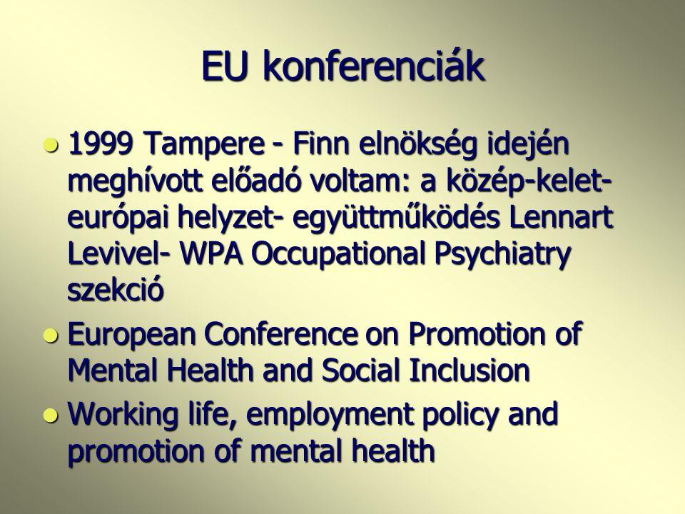 EU konferenciák