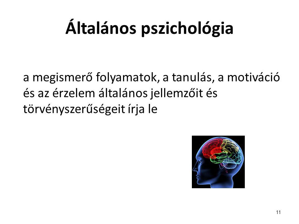 Általános pszichológia