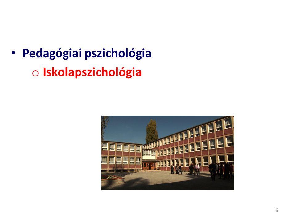 Pedagógiai pszichológia