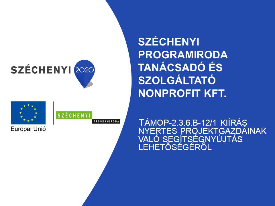 Széchenyi programiroda Tanácsadó és szolgáltató nonprofit kft.