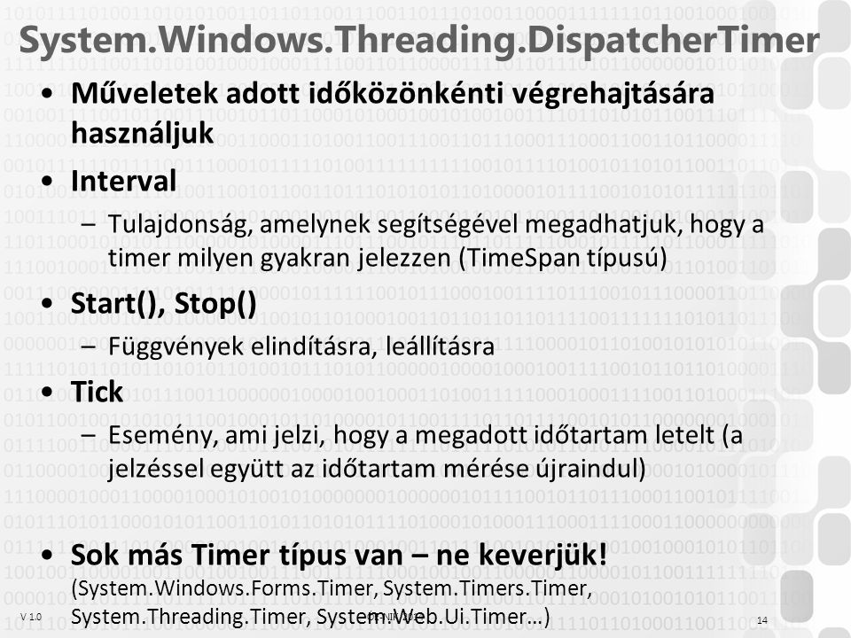 System.Windows.Threading.DispatcherTimer