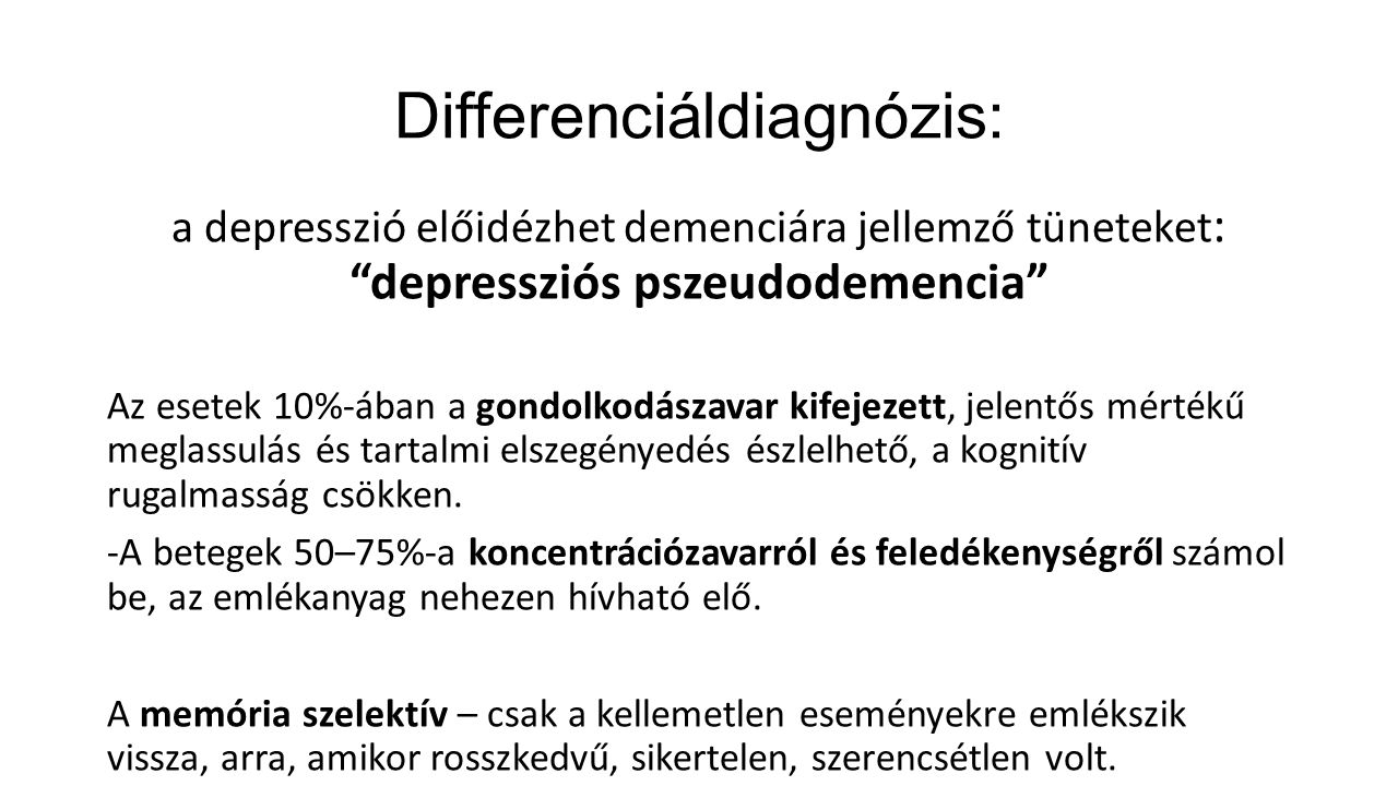 Differenciáldiagnózis: