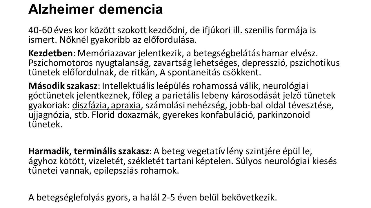Alzheimer demencia
