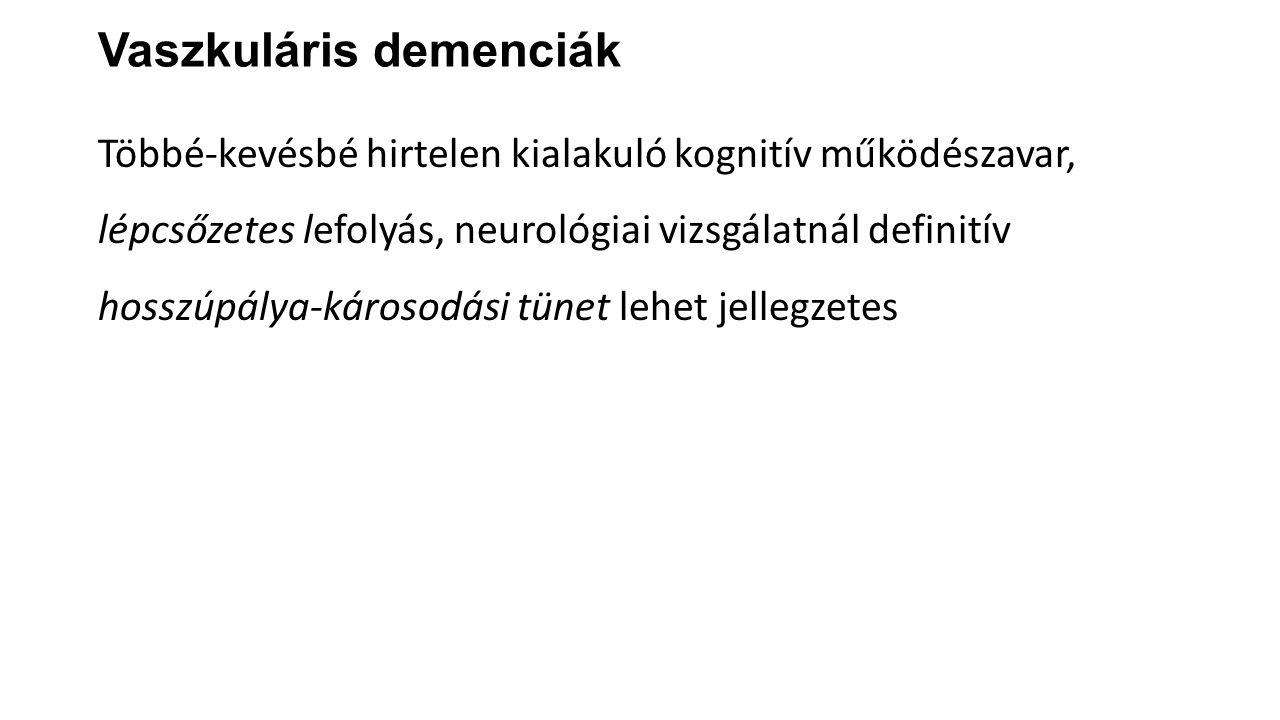 Vaszkuláris demenciák