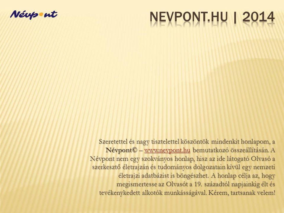 Nevpont.hu | 2014