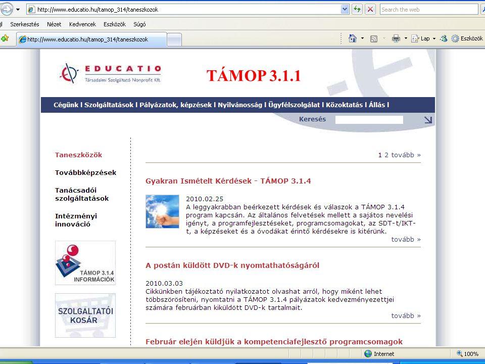 TÁMOP 3.1.1