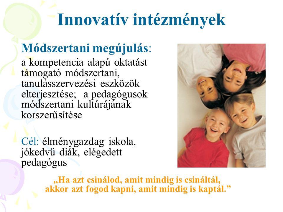 Innovatív intézmények