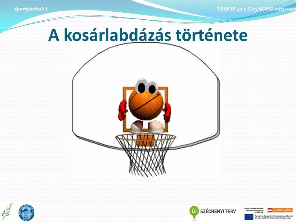 A kosárlabdázás története