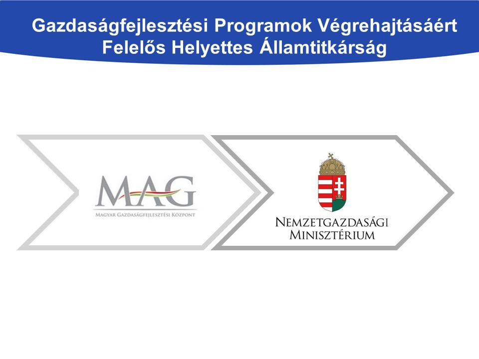 Gazdaságfejlesztési Programok Végrehajtásáért Felelős Helyettes Államtitkárság