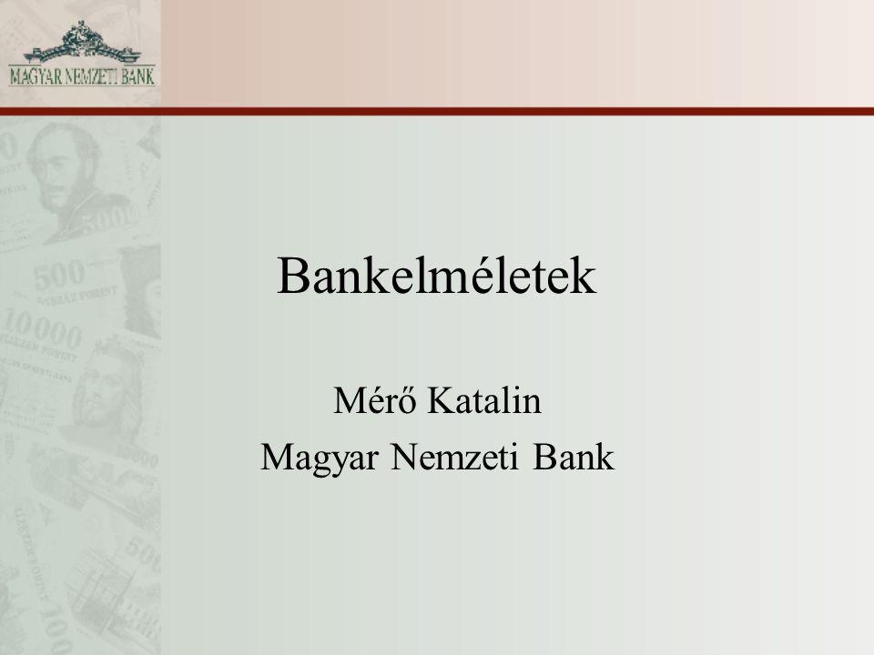 Mérő Katalin Magyar Nemzeti Bank