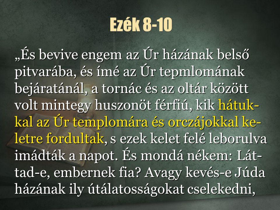 Ezék 8-10