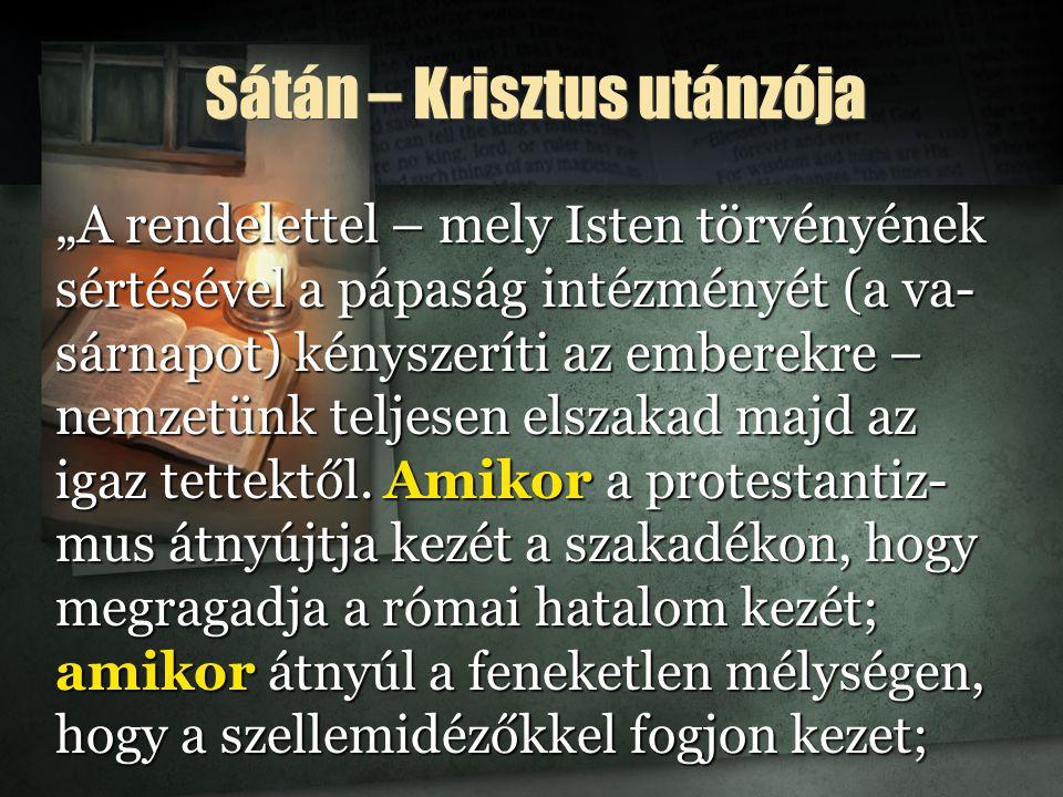 Sátán – Krisztus utánzója