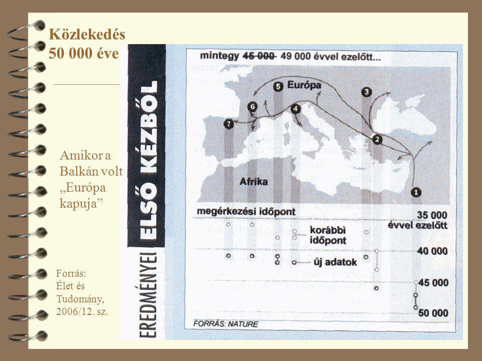 """Közlekedés 50 000 éve Amikor a Balkán volt """"Európa kapuja"""