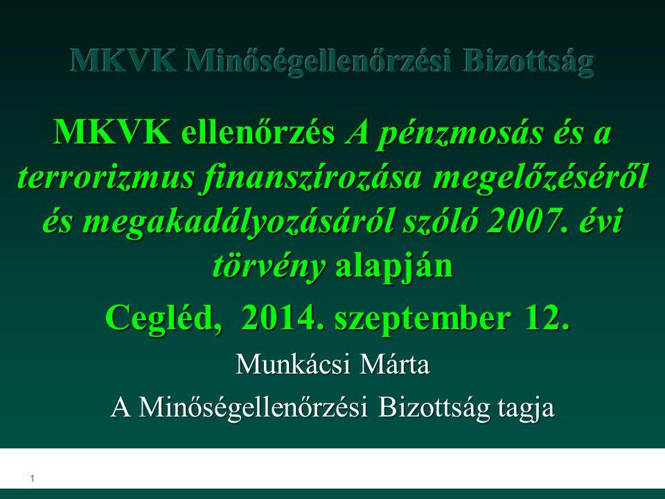 MKVK Minőségellenőrzési Bizottság