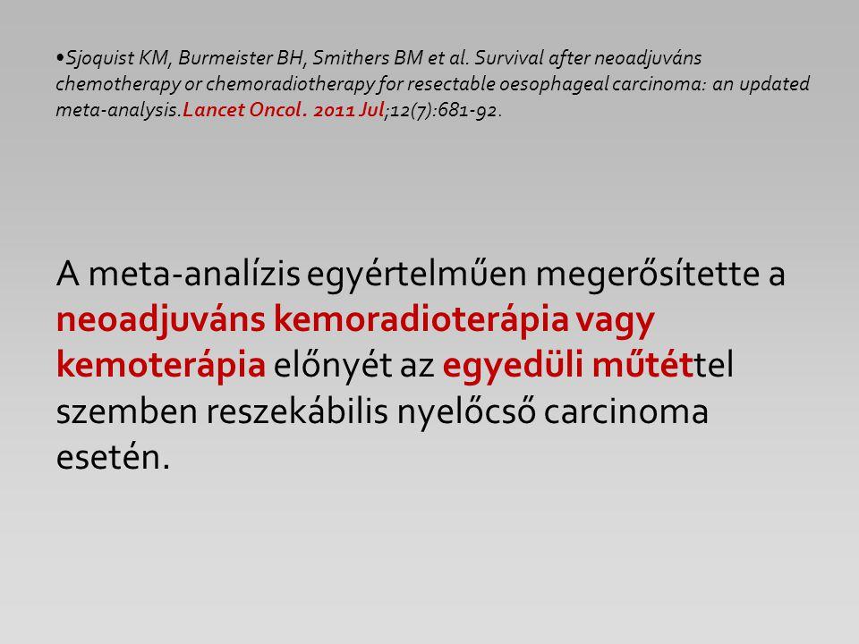 Sjoquist KM, Burmeister BH, Smithers BM et al