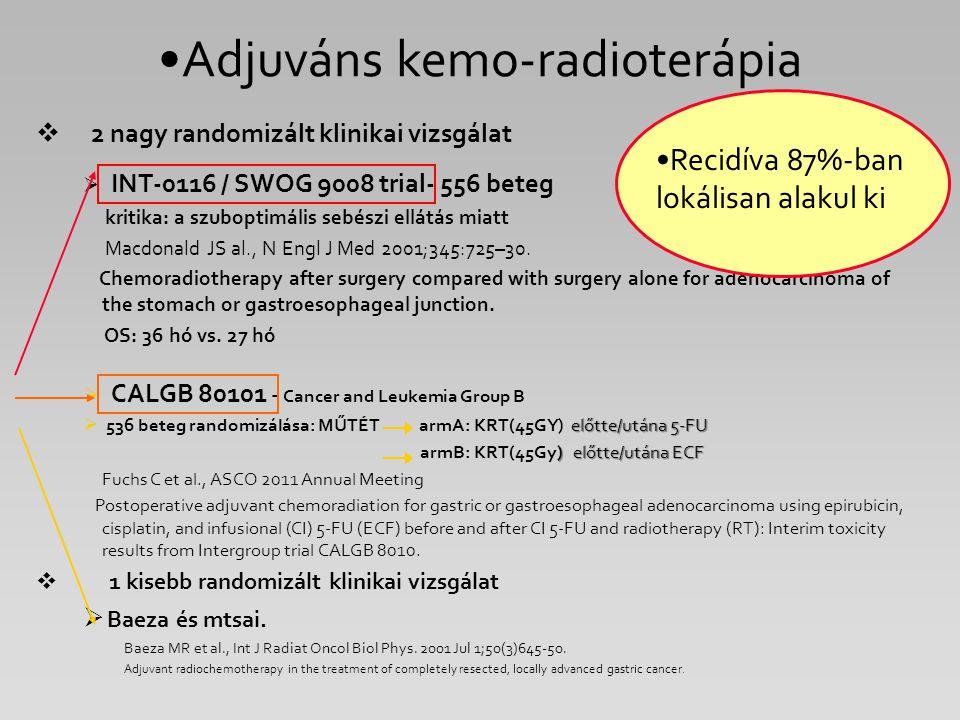 Adjuváns kemo-radioterápia