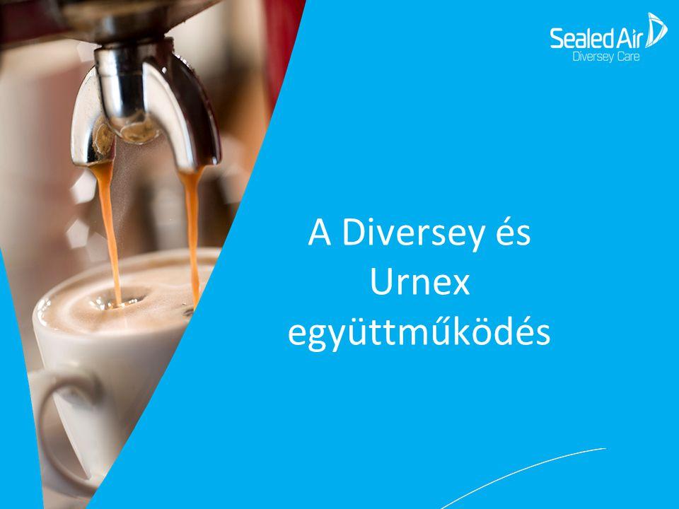 A Diversey és Urnex együttműködés