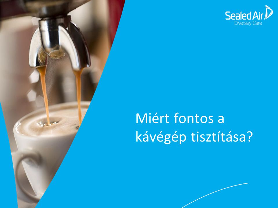 Miért fontos a kávégép tisztítása