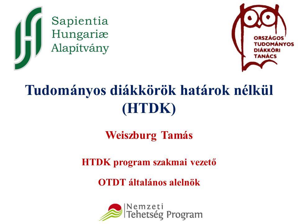 Tudományos diákkörök határok nélkül (HTDK)