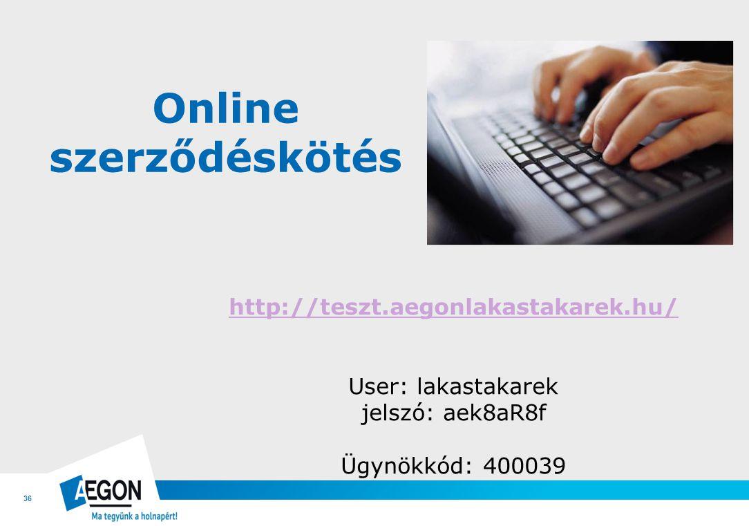 Online szerződéskötés