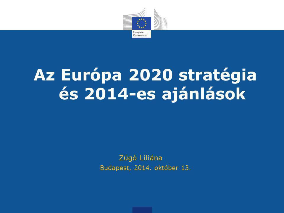 Az Európa 2020 stratégia és 2014-es ajánlások