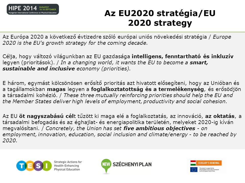 Az EU2020 stratégia/EU 2020 strategy