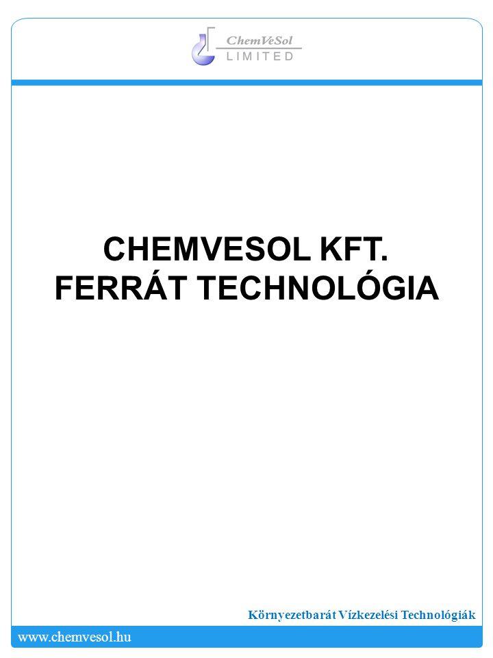 CHEMVESOL KFT. FERRÁT TECHNOLÓGIA