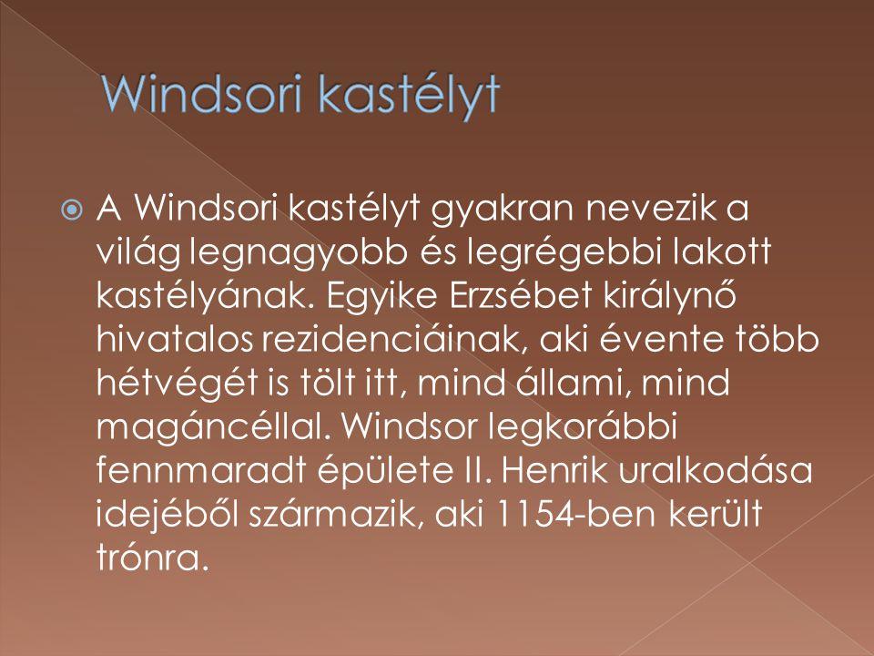 Windsori kastélyt
