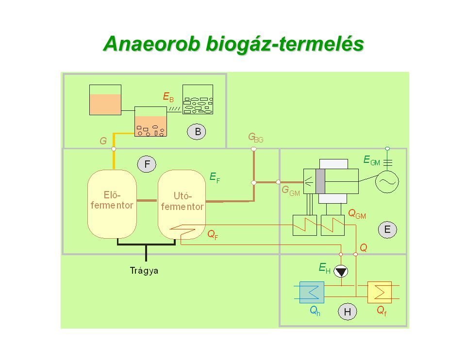 Anaeorob biogáz-termelés
