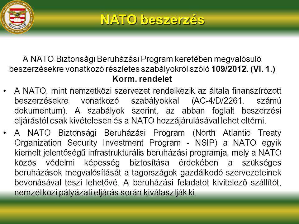 NATO beszerzés