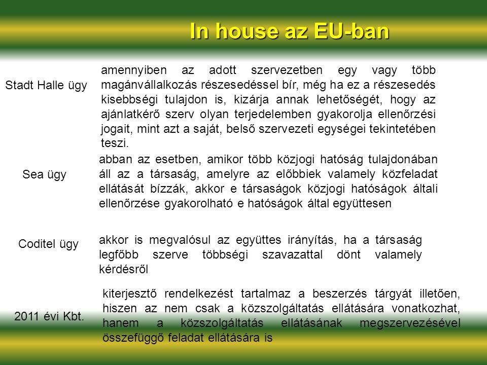 In house az EU-ban