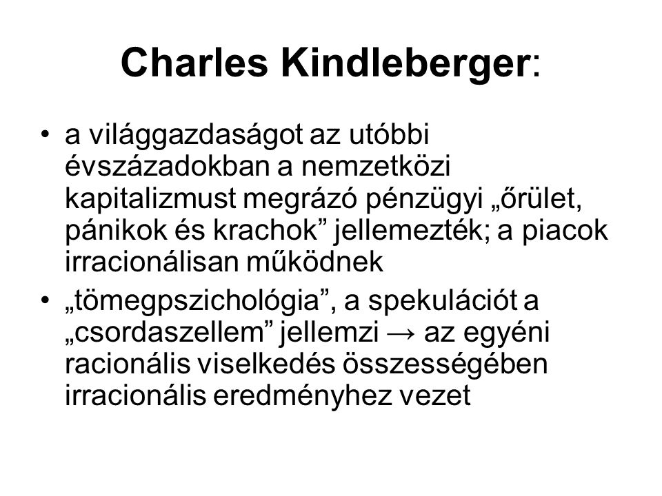 Charles Kindleberger: