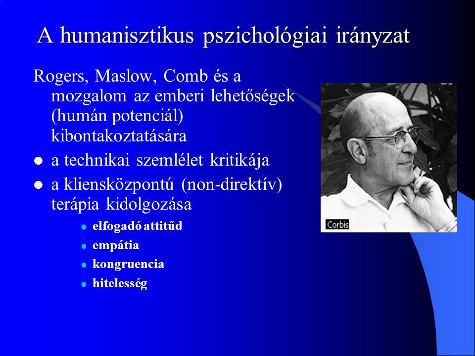 A humanisztikus pszichológiai irányzat