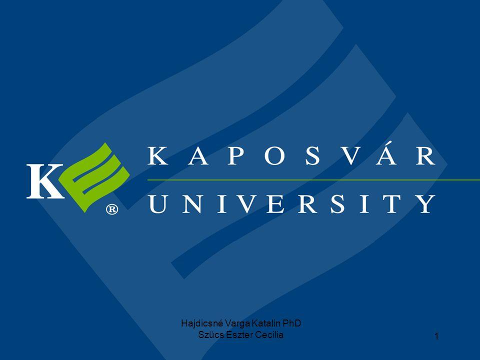 Hajdicsné Varga Katalin PhD
