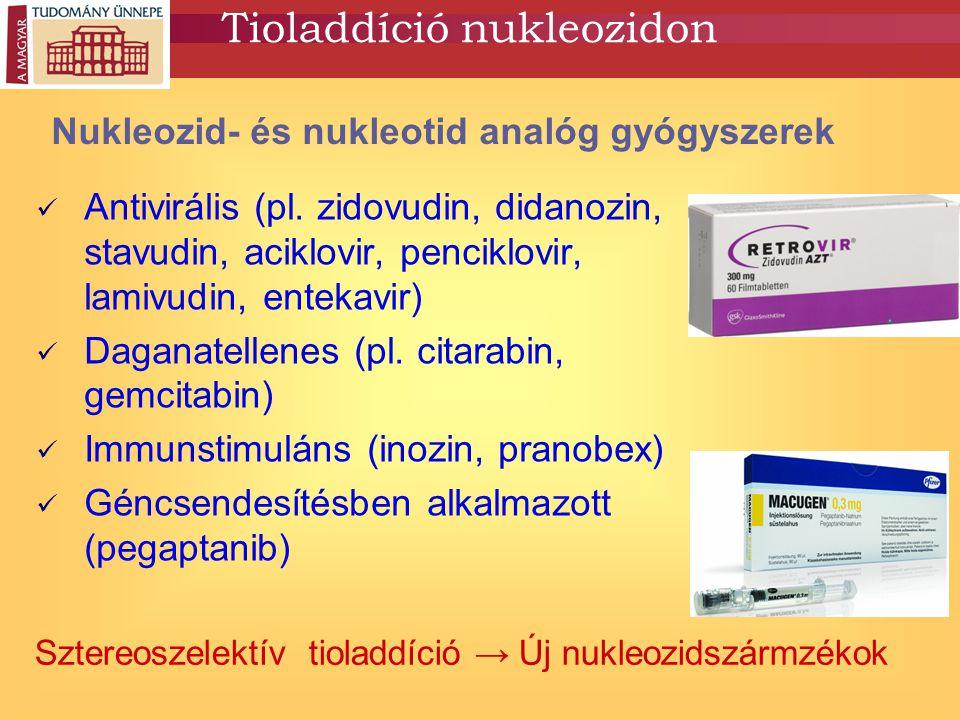 Tioladdíció nukleozidon