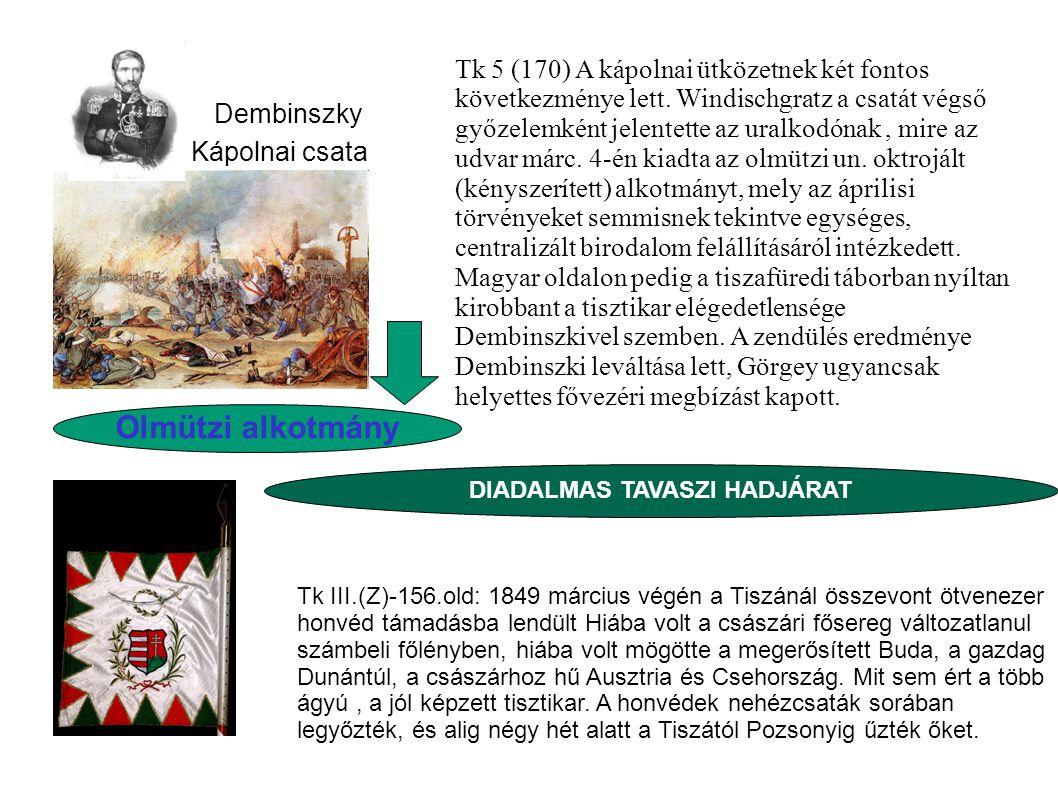 DIADALMAS TAVASZI HADJÁRAT