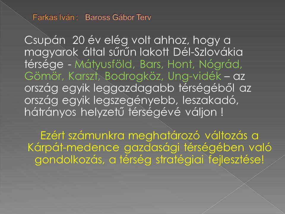 Farkas Iván : Baross Gábor Terv