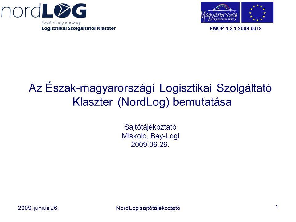 Az Észak-magyarországi Logisztikai Szolgáltató