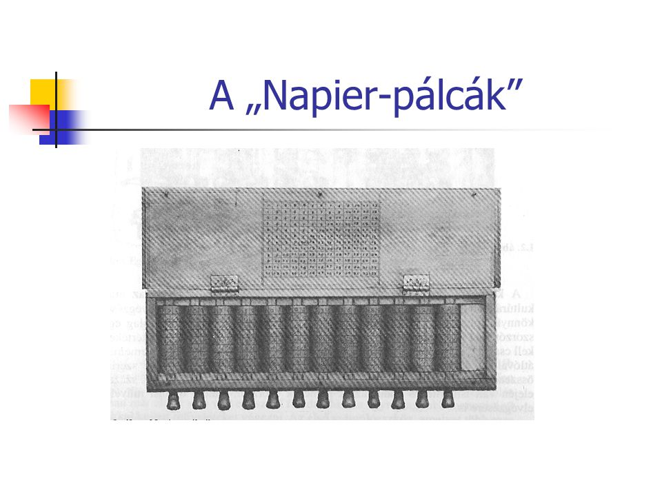 "A ""Napier-pálcák"