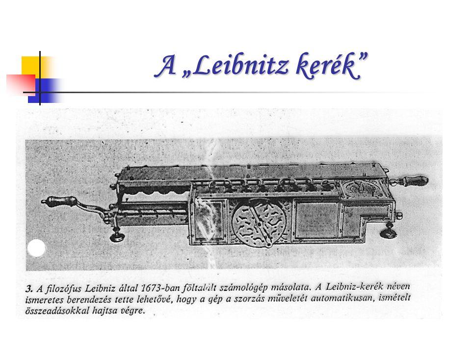 """A """"Leibnitz kerék"""