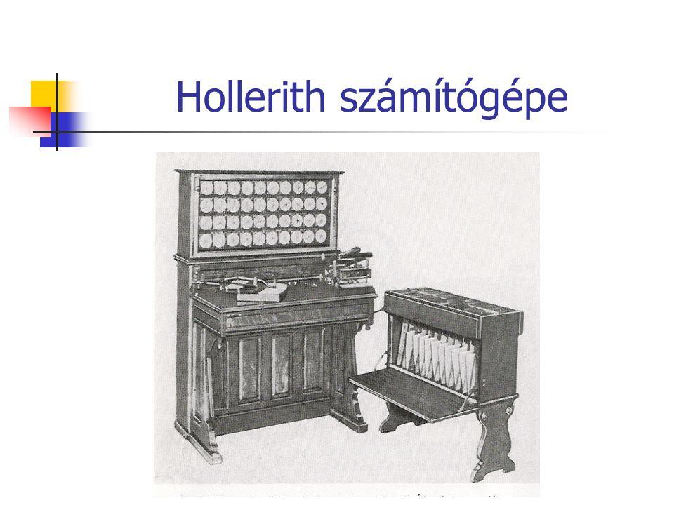 Hollerith számítógépe