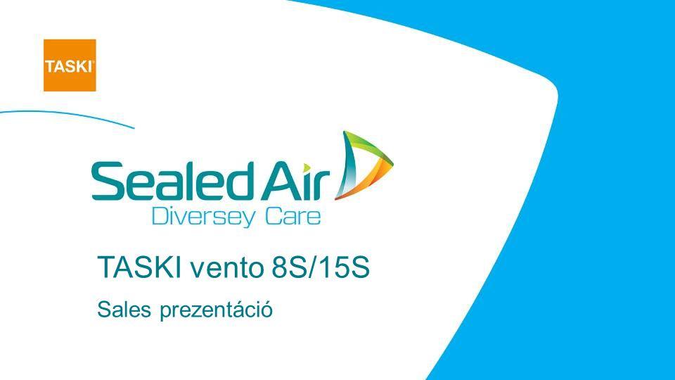 TASKI vento 8S/15S Sales prezentáció
